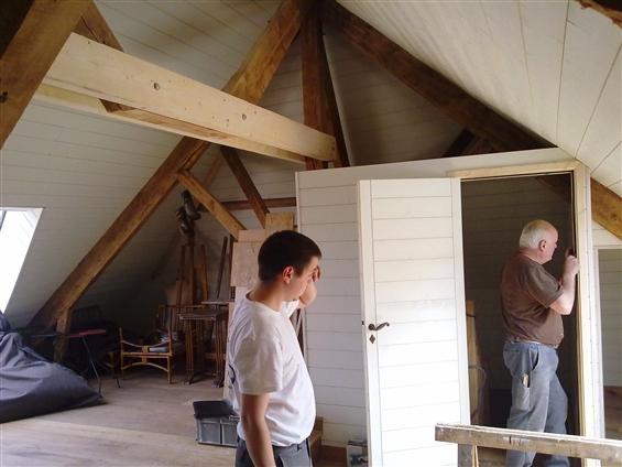 Aménagement de comble ,isolation, lambris,parquet ,sur une résidence secondaire sur le secteur de Noirmoutier 85000