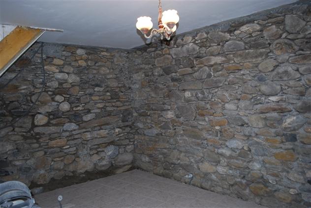 Mur découvert
