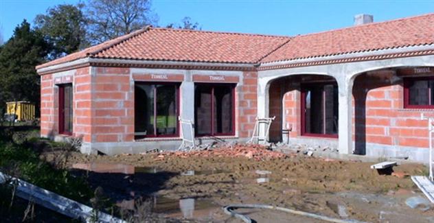 Maconnerie fondation maison neuve réalisée par BFC Maconnerie à La Garnache 85710 près de Machecoul 44270