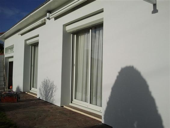 maison en isolation par l'extérieur à Saint Brévin les Pins terminée