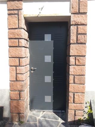 Porte d'entrée BEL'M a VERTOU