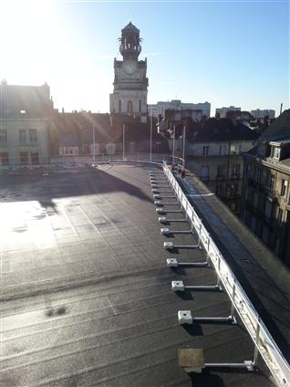 Etanchéité toiture terrasse à NANTES 44000.