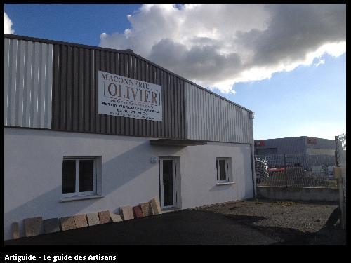 siege de l'entreprise Olivier Maçonnerie à Saint Père en retz