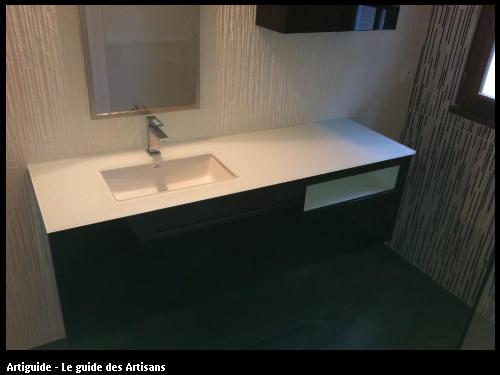 salle de bain réalisée par l'entreprise 2 éléments basée à Saint Père en Retz 44 320