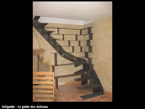 Création originale d'un escalier