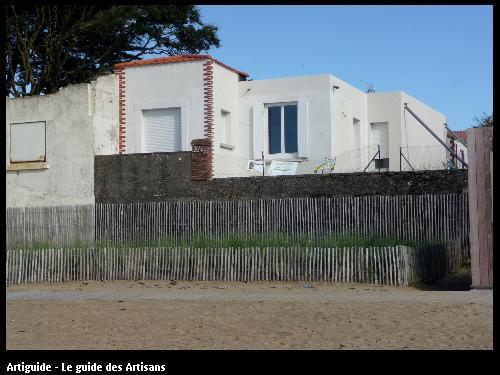 Renovation La Bernerie en retz  vue sur mer  Régine Blanchard Maitre d 'œuvre  a Saint Viaud