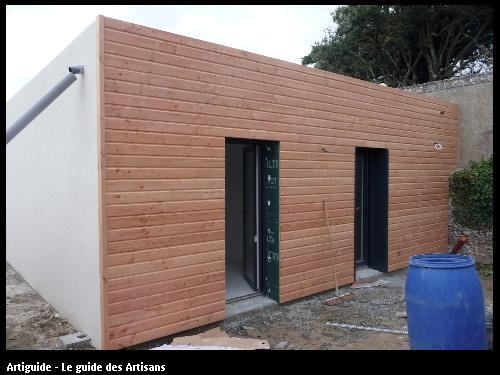 Renovation La Bernerie en retz  vue jardin   Régine Blanchard Maitre d 'œuvre  a Saint Viaud