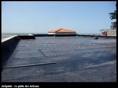 Renovation La Bernerie en retz   vue terrasse .  Régine Blanchard Maitre d 'œuvre  a Saint Viaud