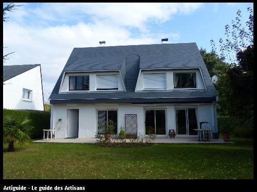 44240 - peinture façade et toiture.