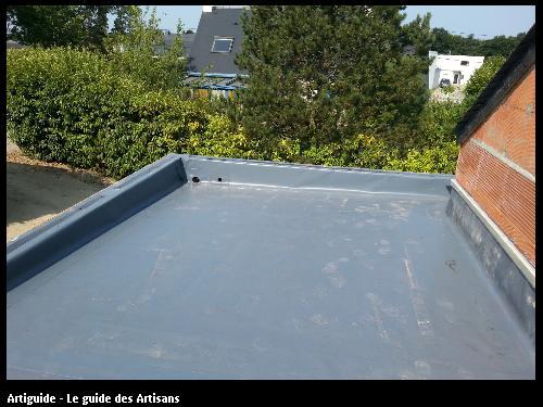 terrasse en membrane synthétique Carquefou 44470.