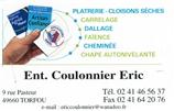 COULONNIER ERIC - plâtrier - NANTES (44000) 44000