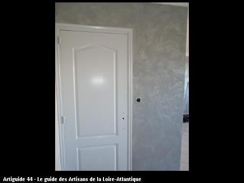 réalisation de travaux par l'artisan peintre CLAVIER DOMINIQUE à Machecoul 44, secteur de Nantes