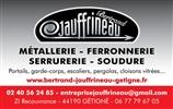 EURL JAUFFRINEAU Bertrand ferronnerie, escalier, rénovation, aménagement intérieur, aménagement extérieur, portail, clôture, mettalerie GETIGNE 44190