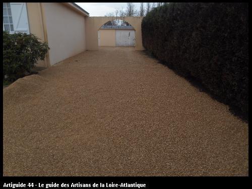 Travaux de revetement réalisé par l'entreprise SOMATP basé à Saint Lumine de Coutais 44310