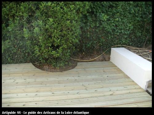 terrasse en bois exotique à PORNIC 44210