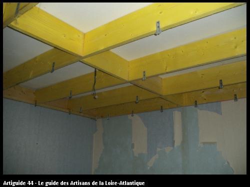 solivage sous ancien plafond PORNIC44320