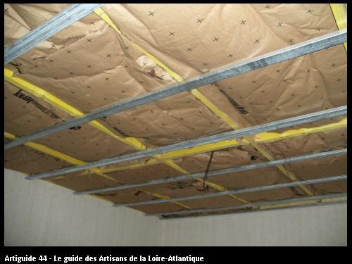 isolation plus ossature métallique  PORNIC 44320