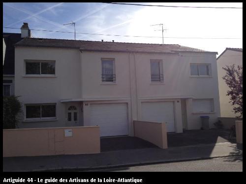 44300 NANTES - travaux extérieurs sur façade