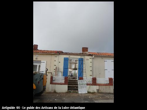 La bernerie en  retz   surélévation rénovation  régine Blanchard  Maitre d'œuvre Saint Viaud