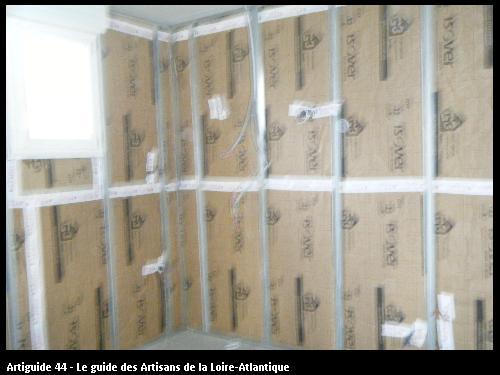 isolation: panneaux de GR 32 pour isolation des murs