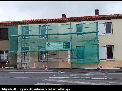 Ravalement de façade extérieur réalisé par GUET DECOR