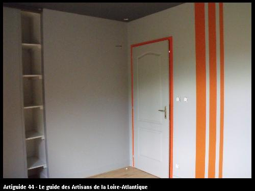revêtement mur réalisé par GUET DECOR