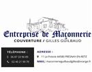 Guilbaud Gilles maçon, enduit, rénovation, façade, assainissement, construction maison, couvreur, ravalement, agrandissement FRESNAY-EN-RETZ 44580