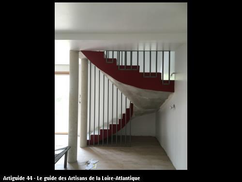 Escalier et rénovation  sur  Paimboeuf