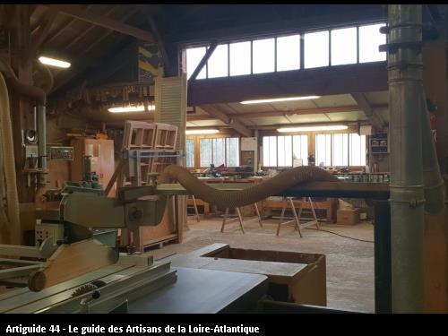 Atelier de fabrication des menuiseries