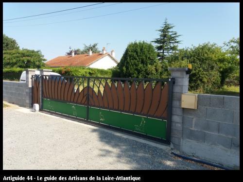 Motorisation d'un Portail Coulissant (Chauvé)