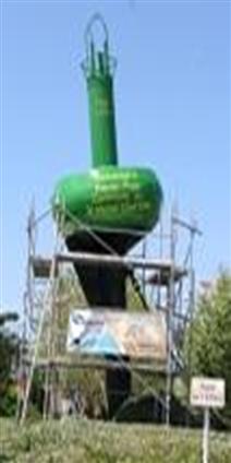Peinture de la bouée de tharon pour la municipalité de Saint-Michel-Chef-Chef 44730.