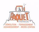 PATRICK PAQUET - travaux publics - LANDREAU 44430