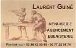 LAURENT GUINE MENUISERIE-EBENISTERIE ébéniste, menuiserie, salle de bain, parquet, terrasse, volets PONTCHATEAU 44160