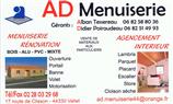 AD Menuiserie menuiserie, escalier, rénovation, aménagement intérieur, aménagement extérieur, portail, parquet, plaquiste, automatisme, terrasse, agrandissement, volets VALLET 44330