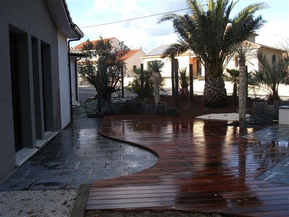 Aménagement de jardin à HAUTE-GOULAINE 44115.