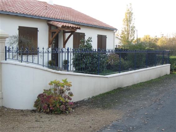 Cloture Haute-Goulaine 44115