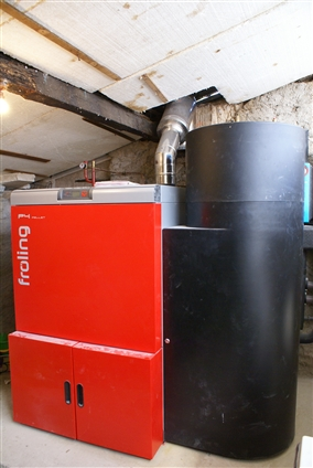 Installation d'une chaudière  à Marsac-sur-Don - 44170 - .