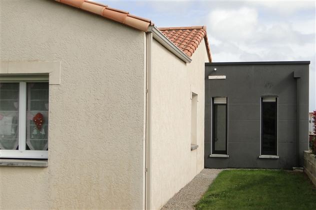 Menuiseries dans extension d'habitation à Rocheservière 85190