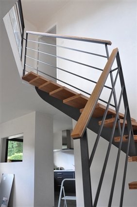 Escalier à Saint Luce sur Loire 44980.