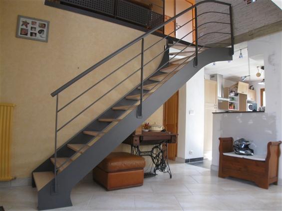 Escalier à Coueron 44220.