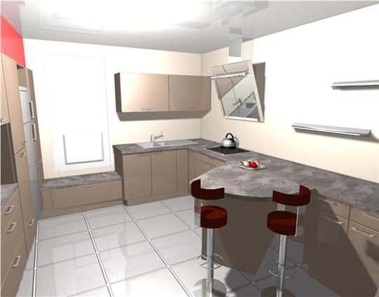 Conception 3D rendu au client avant accord de réalisation