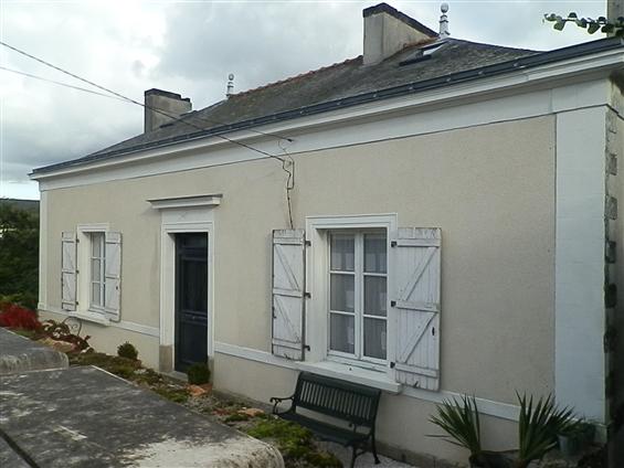 Façade après restauration à Château-thébaud 44690.