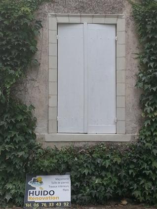 Fenêtre après la restauration à Vertou 44120.