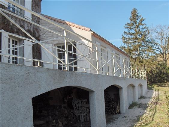 Garde-corps terrasse. Cugand (85610)