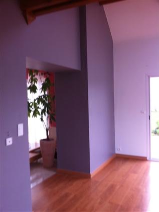 Chiron peinture decoration peintre en batiment chapelle sur erdre - Conseil peinture mur 2 couleurs ...
