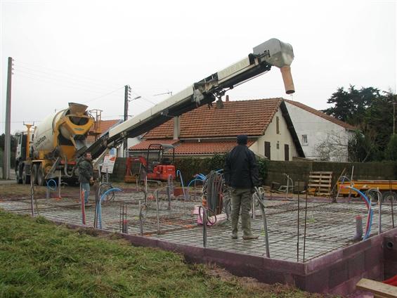 création d'une plate-forme pour maison neuve faite à la Bernerie-en-retz 44760