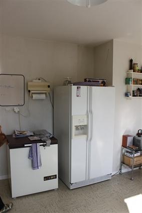 Thouaré sur Loire : avant, le coin frigo américain.