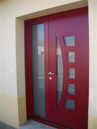 fourniture et pose d'une porte d'entrée sur le secteur de Clisson 44