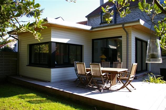 extension ossature bois dans NANTES 44000