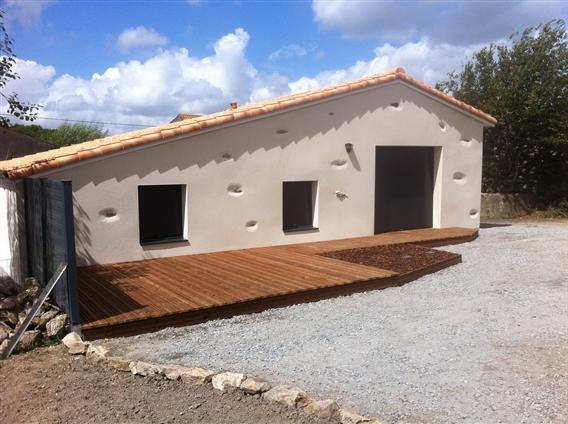 Terrasse bois à Le Bignon 44140